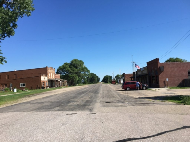 johnstown nebraska business district